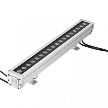 DG5076NET-LED洗墙灯RGB户外条形灯 防水单色七彩全彩洗墙灯投射灯护栏灯