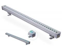 DG5084NET-LED洗墙灯24W36W防水线型灯七彩DMX512户外楼体轮廓灯广告泛光灯