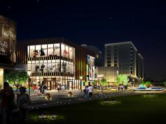 临沂鲁商中心-景观照明工程
