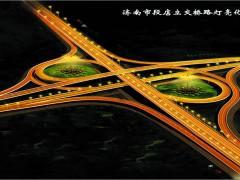 济南段店立交桥路灯亮化工程-路灯贝博体育app安卓手机下载工程