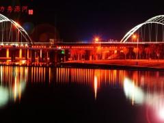 山东章丘绣缘河-景观照明工程