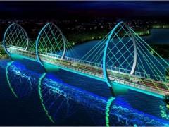 道路桥梁照明亮化设计—桥梁照明方案