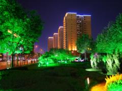 灯港结合楼体因素打造高质量楼体夜景亮化工程!