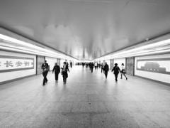 """北京长安街地下通道年内""""大变脸"""" 采用LED照明"""