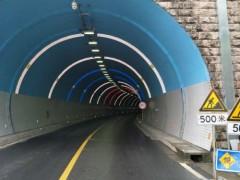 """照明不靠电""""彩虹隧道""""采用LED自发光技术"""