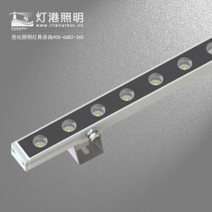 LED洗墙灯 户外智能控制系统 雷竞技二维码下载工程LED洗墙灯