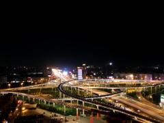 北园大街高架桥道路及环境建设亮化工程-市政亮化