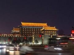 地球一小时10周年  西安标志性建筑熄灯1小时