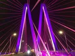 灯港照明解读:桥梁亮化工程的施工难点以及解决方案-户外景观亮化公司