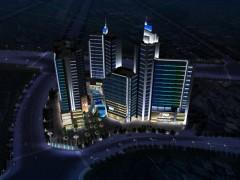 商业广场户外景观亮化设计——光与建筑之间的映衬|灯港照明