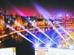 """黑池坝景区""""点亮""""最美夜空 合肥市今年即将迎来22个夜景亮化项目"""
