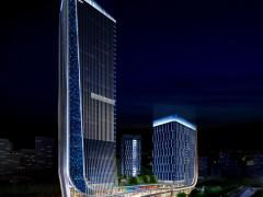 户外照明工程如何针对高层楼体特点进行亮化?