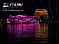 古代建筑夜间亮化照明设计原则