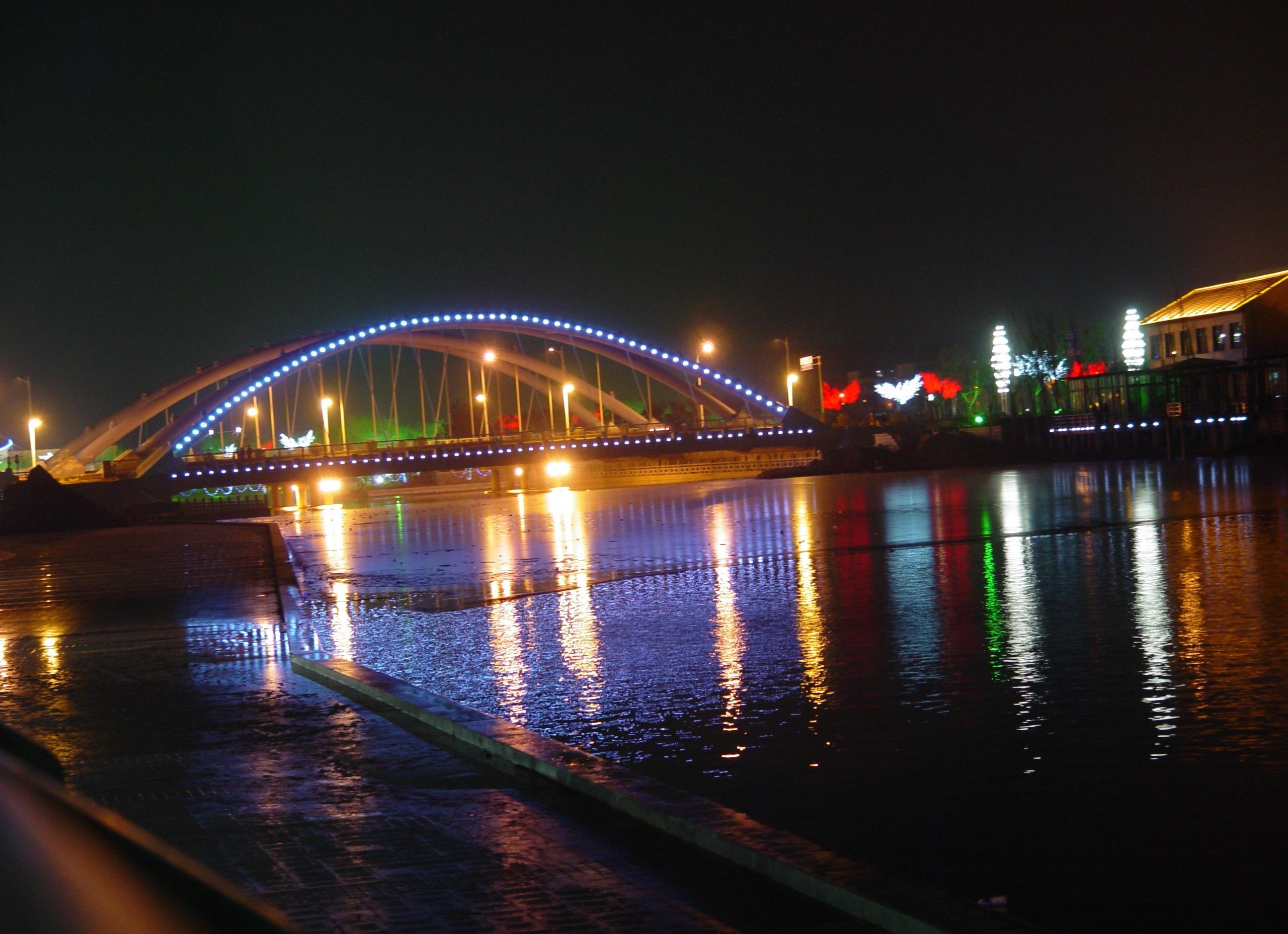 菏泽城区夜景照明-景观照明工程