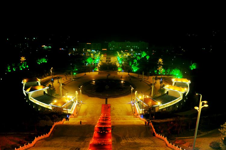公园夜景亮化