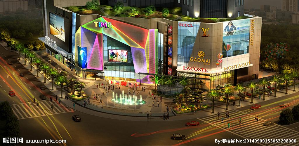 商场照明亮化工程
