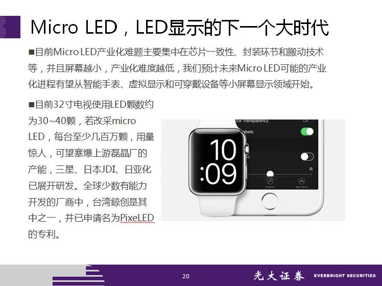 LED照明行业深层次报告总结