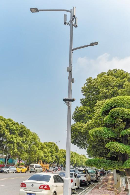 """湖南首条""""智慧照明路""""亮相长沙隆平高科技园"""