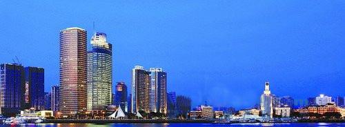 厦门1400多个夜景照明亮相 为美丽中国发出璀璨光芒