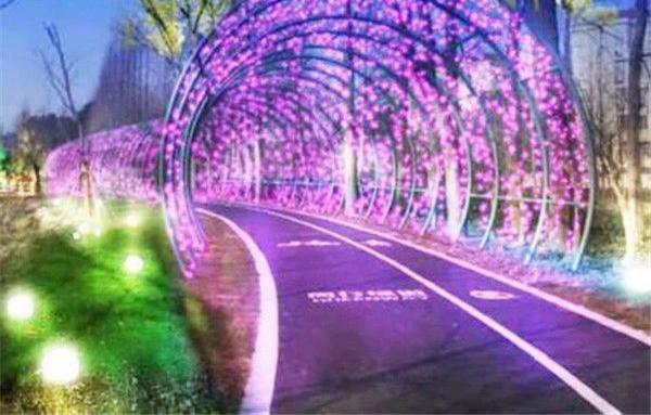 完善绿道景观照明 闵行将率先对15公里绿道进行灯光改造
