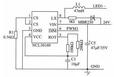 恒照度自适应调光的LED驱动器设计
