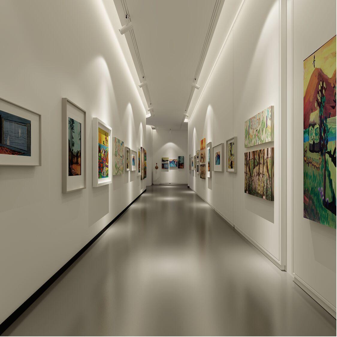 山东美术馆展厅