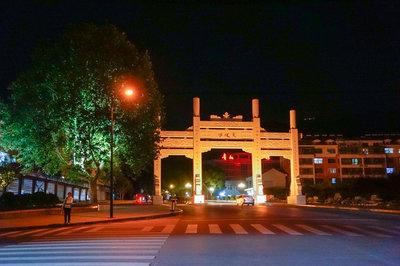泰山红门及奈何景区照明工程-景观亮化