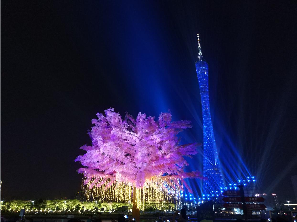花城广场灯光节