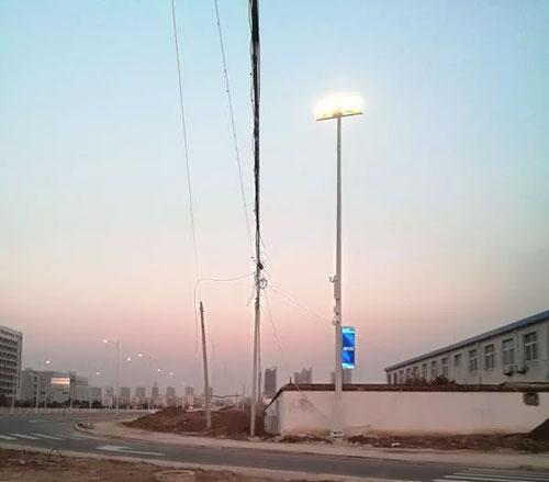 一盏盏智慧路灯托起新沂人民智慧城市美好未来