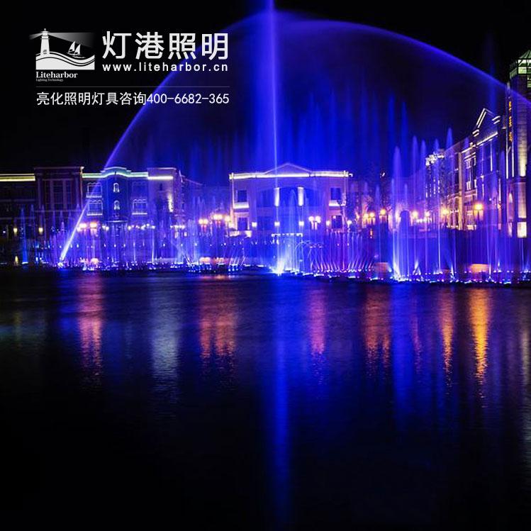 喷泉景观亮化照明